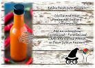 Hot Sauce Chillie Condiments Homemade Edible Gifts
