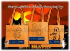 Halloween Tote Decor Gift Favour Loot -  Bags - Non woven