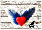 Valentines, Mother's Day, Father's Day, Angel, Feather, Wing, Hearts